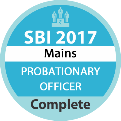 SBI PO Mains Complete