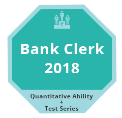 Bank Clerk 2018 QA Test Series