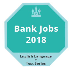 Bank Jobs 2018 - English Language + Test Series