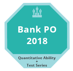 Bank PO 2018 QA Test Series