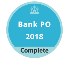 Bank PO 2018 Complete