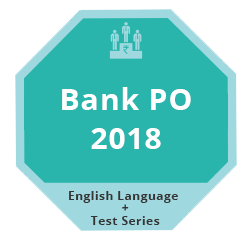 Bank PO 2018 VA TestSeries