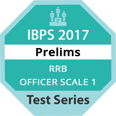 IBPS RRB Officer Scale 1 Prelims Test Series