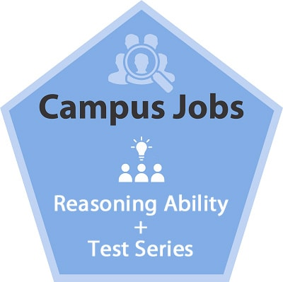 Campus Jobs - Reasoning Ability + Test Series