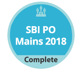 SBI PO Mains 2018 Complete