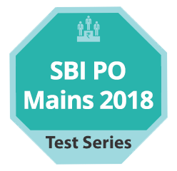 SBI PO Mains 2018 Test Series