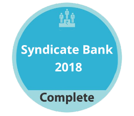 Syndicate Bank 2018 Complete
