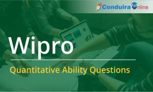 Wipro Quantitative Ability Questions