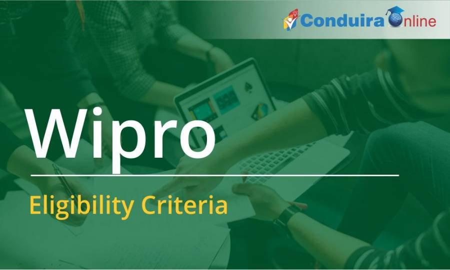 Wipro Campus Recruitment Process - Wipro Eligibility Criteria