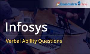 Infosys Verbal Ability Questions