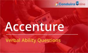 Accenture Placement Papers - Verbal Ability
