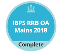 IBPS RRB OA Mains 2018 Complete